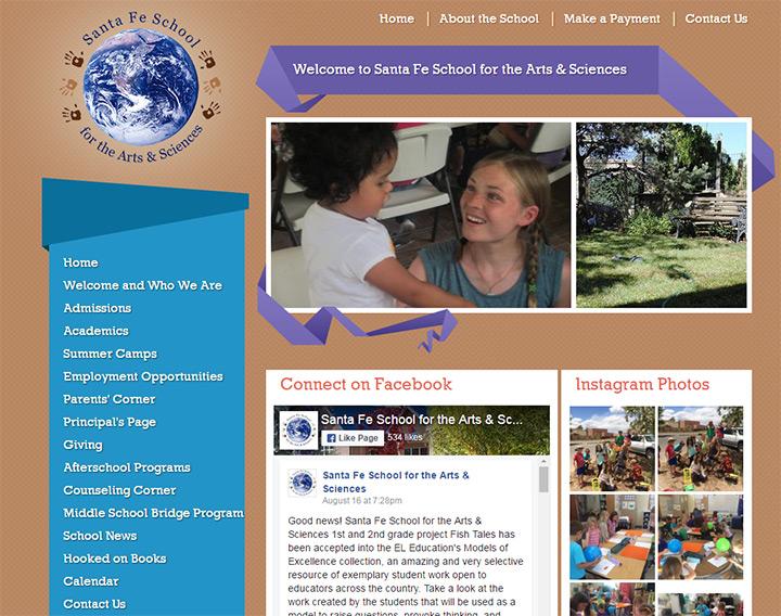santa fe school arts sciences