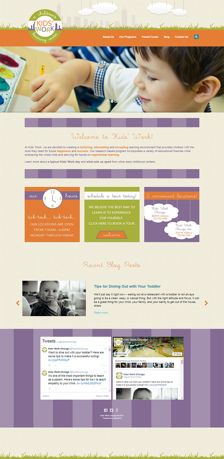 100 preschool u0026 kindergarten websites for design inspiration