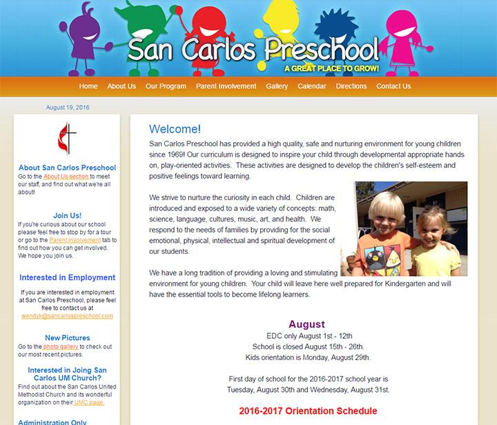 san carlos umc preschool