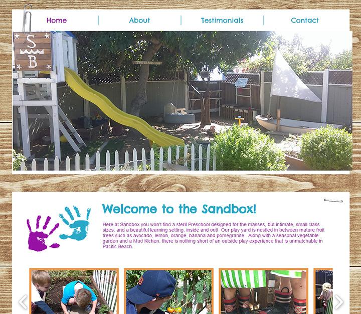 sandbox school