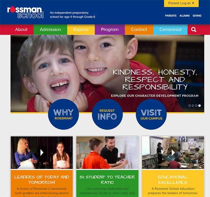 rossman school site