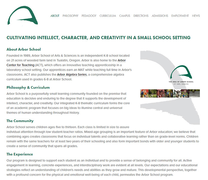 arbor school arts sciences