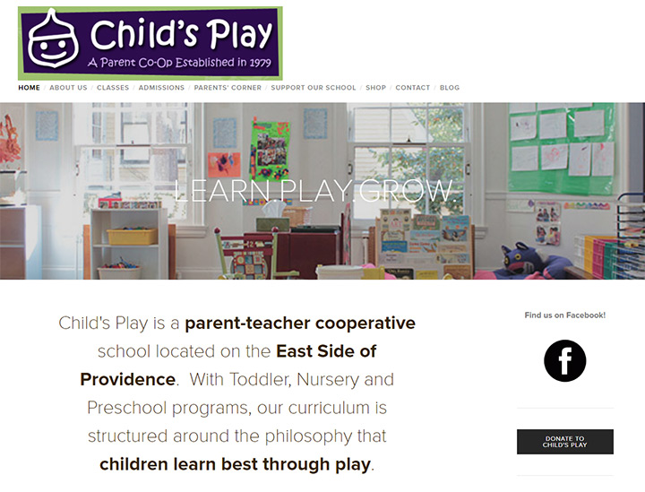 parent co-op childs play