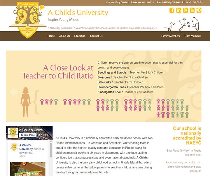 childs university preschool kindergarten