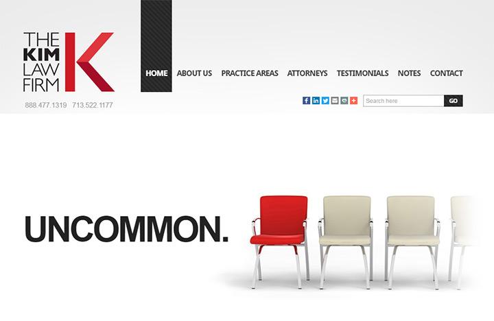 kim law firm website