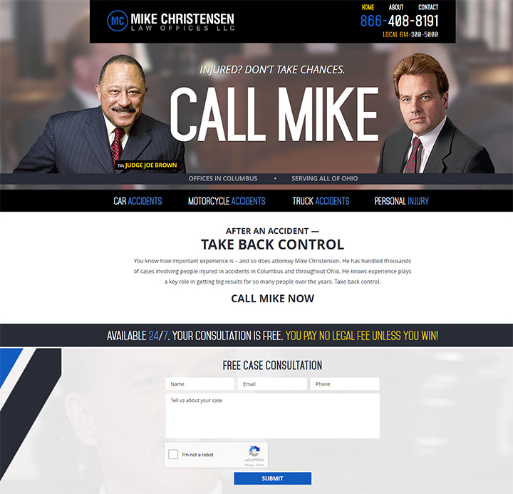 mike christensen law firm