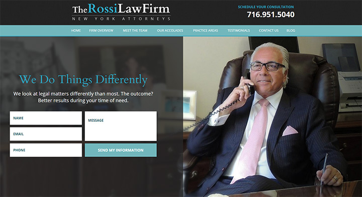 rossi law firm website
