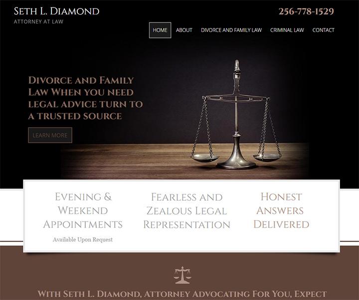 seth diamond attorney website