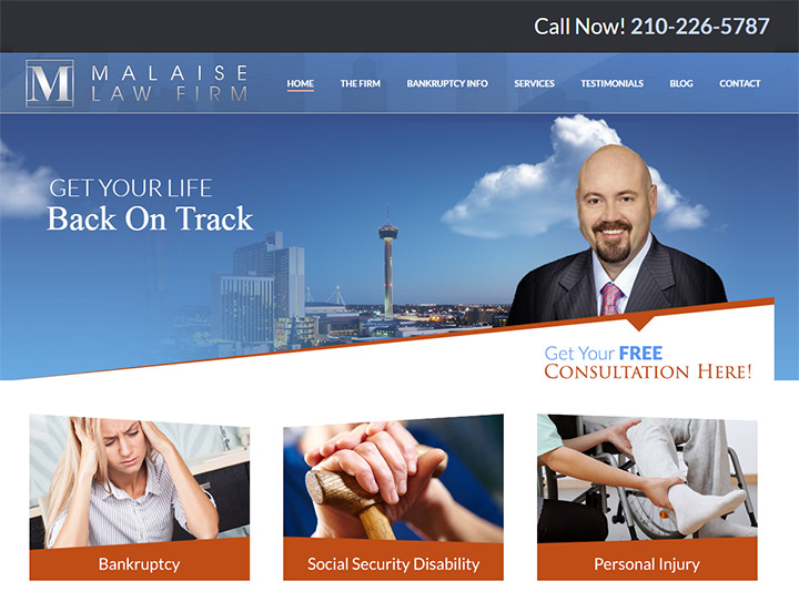 malaise law firm website