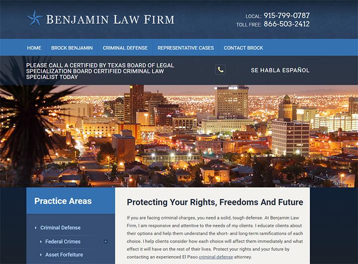 benhamin el paso website