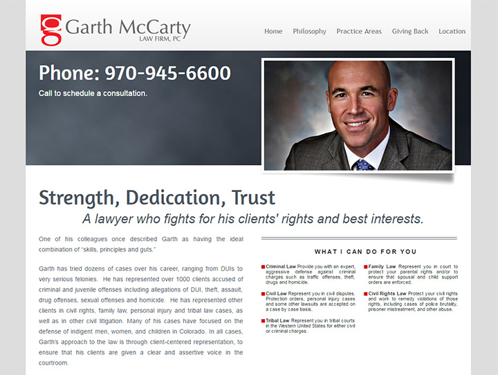 garth mccarty law firm website