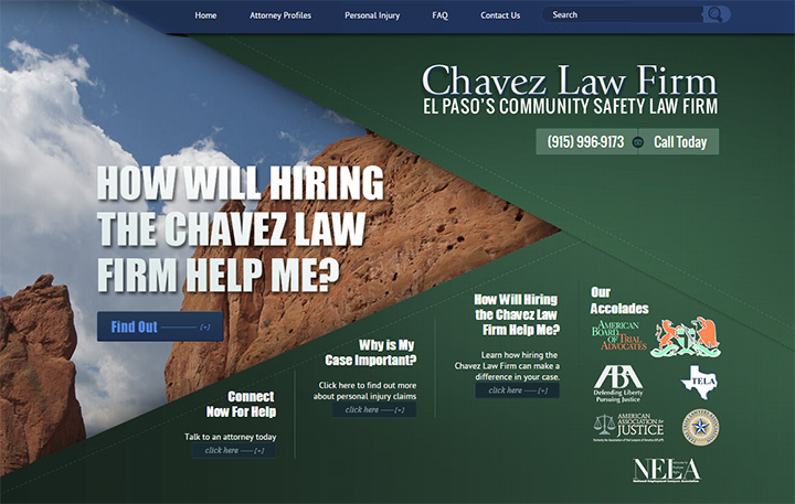 chavez law firm website