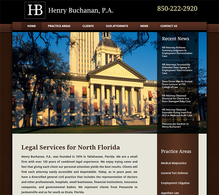 henry buchanan lawyer website
