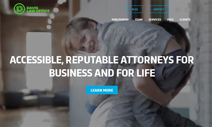 davis law firm website