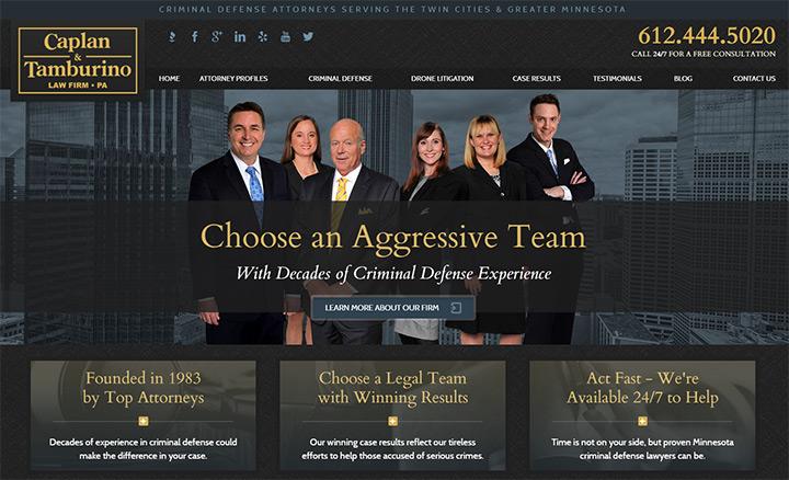 caplan tamburino website lawyer