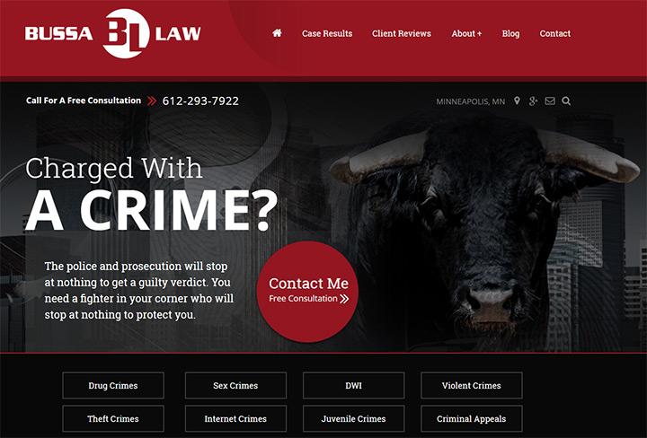 bussa law firm webiste