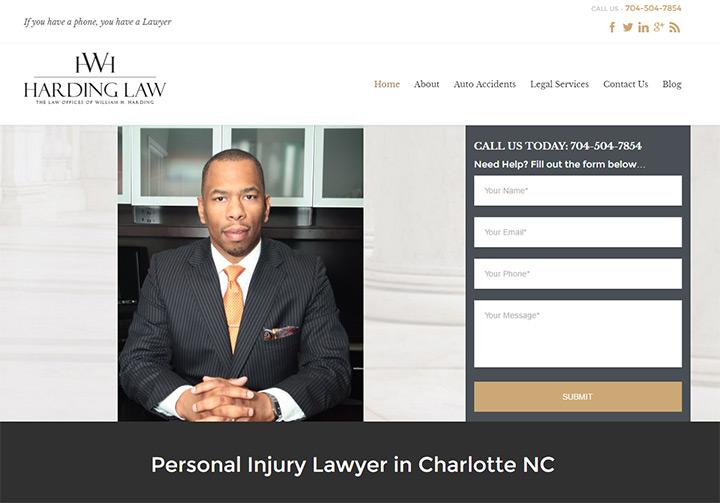 harding law firm website