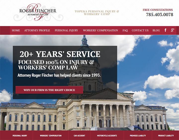 roger fincher lawyer website