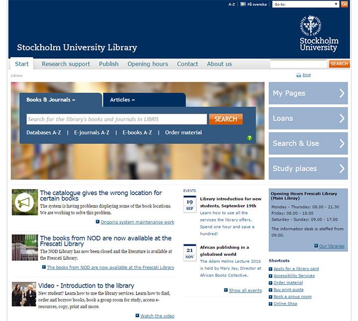 stockholm u library