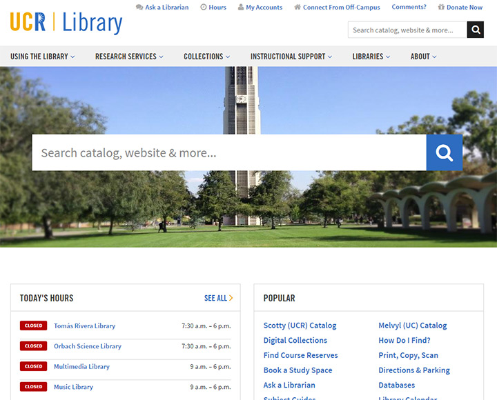 ucr library
