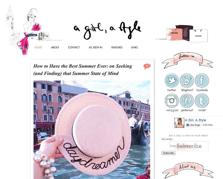 a girl style blog