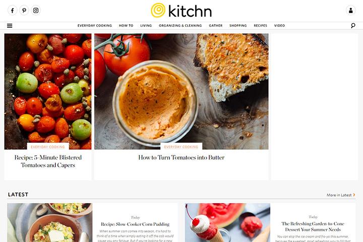 kitchn blog