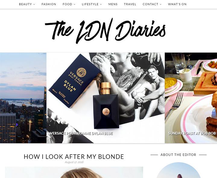 the ldn diaries blog