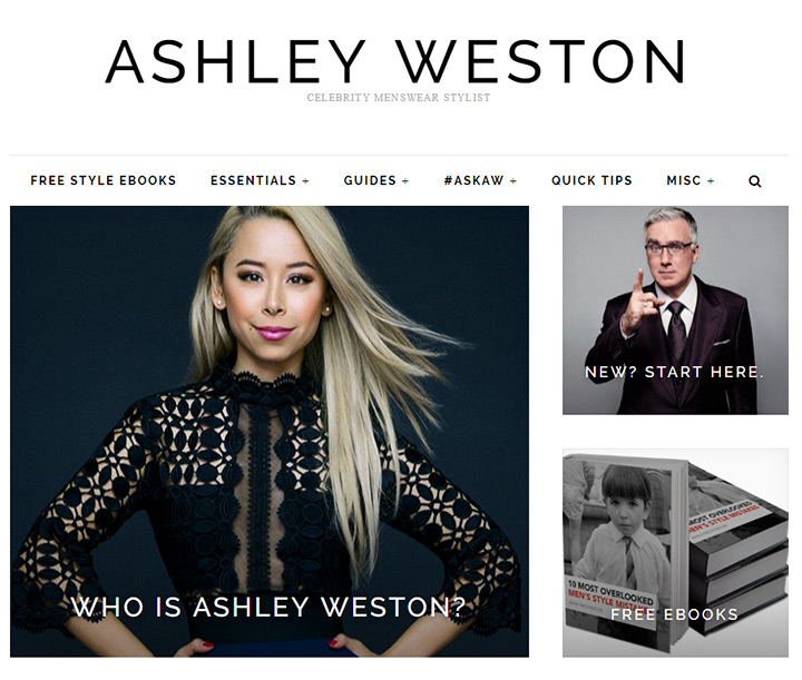 ashley weston