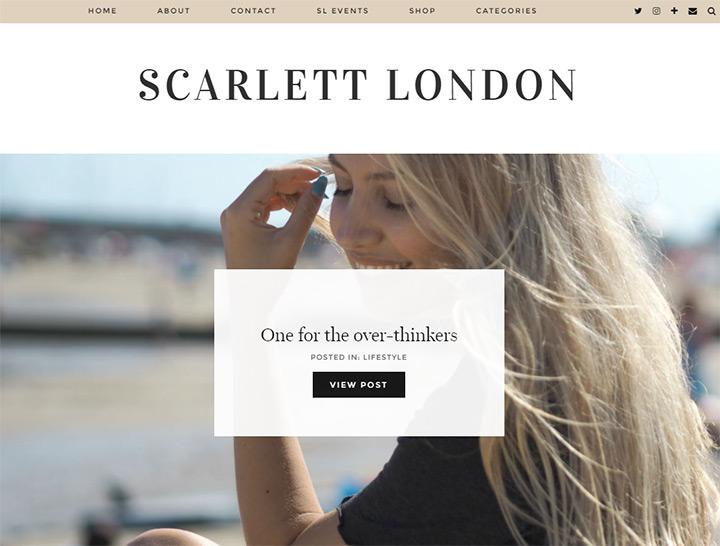 scarlett london blog