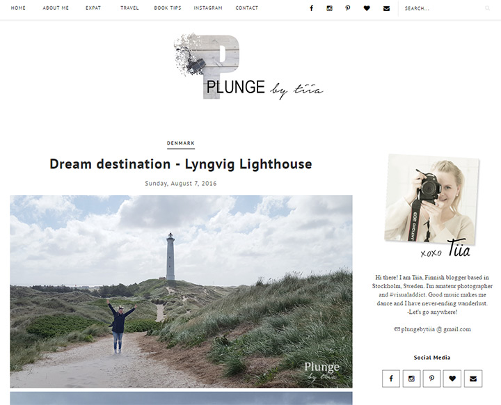plunge by tiia blog