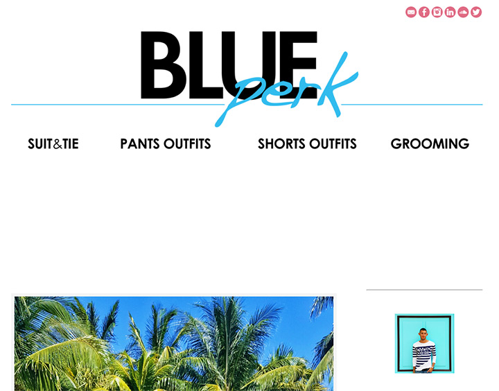 blue perk blog