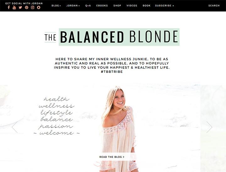 balanced blonde blog