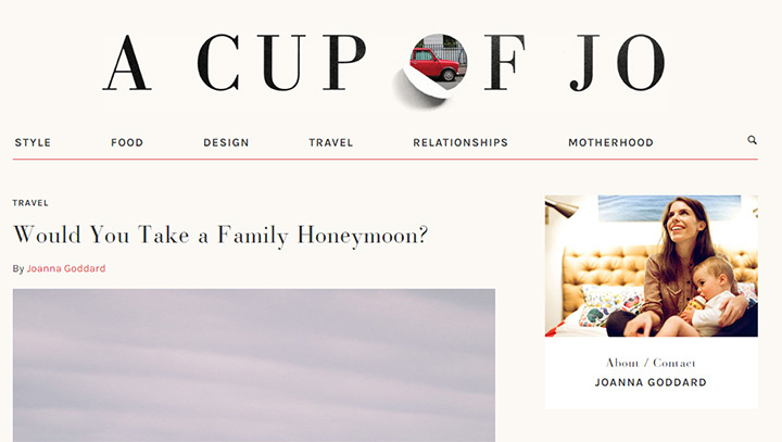 cup of jo blog