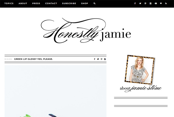 honestly jamie blog