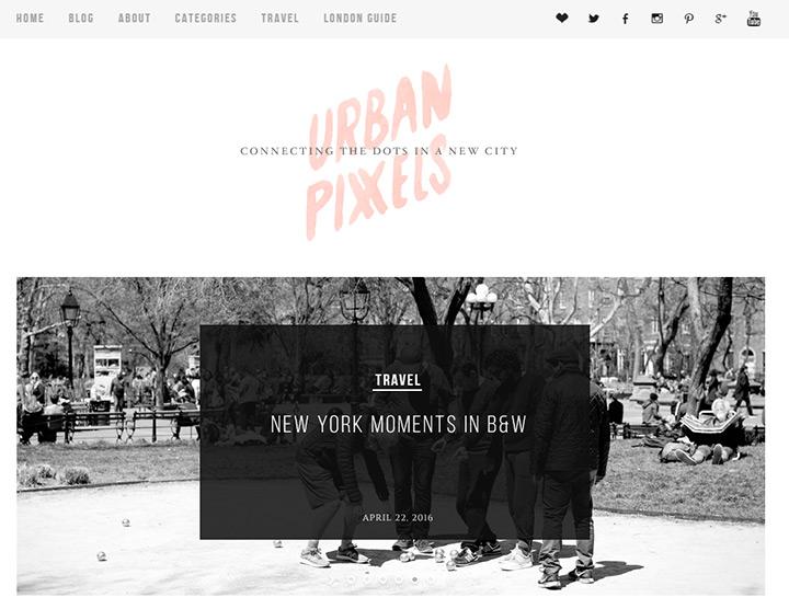 urban pixxels blog