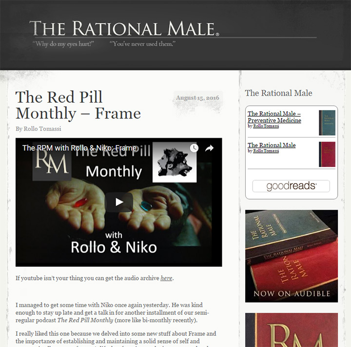 the rational male blog
