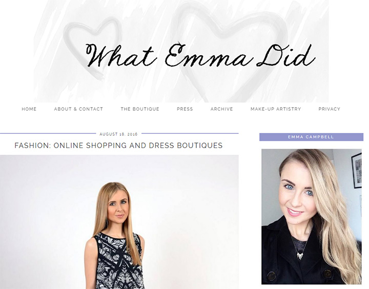 what emma did blog