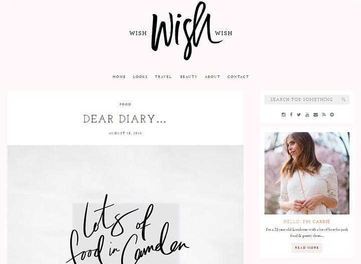 wish wish wish blog