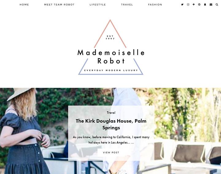 mademoiselle robot blog