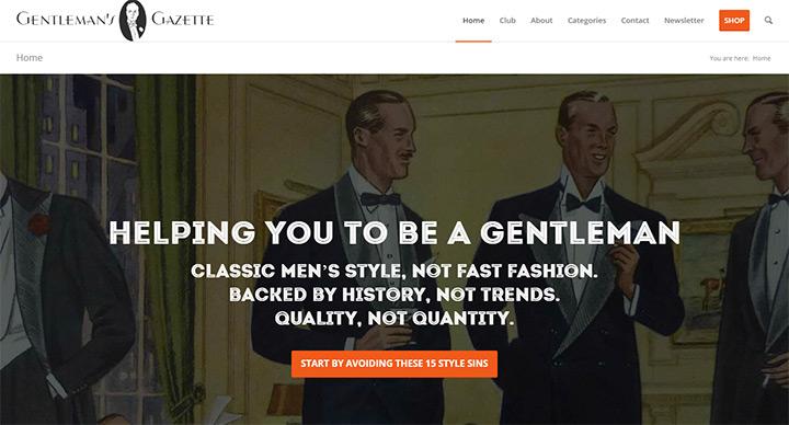 gentlemans gazette blog