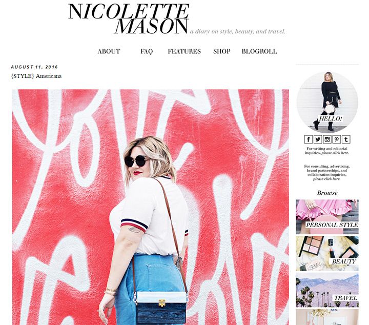 nicolette mason blog