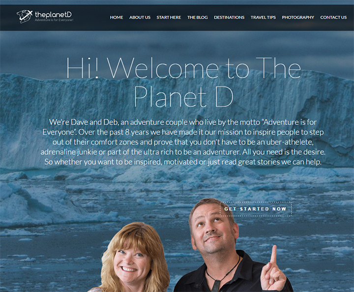 planetd homepage