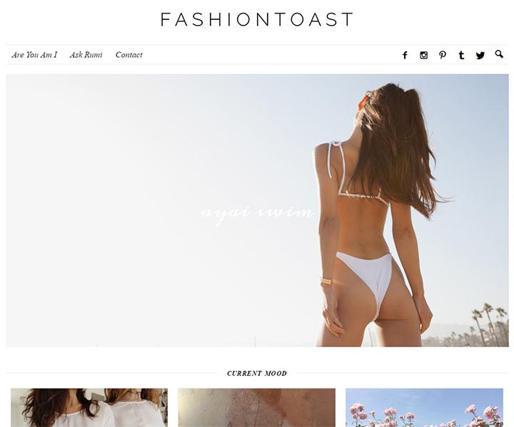 fashion toast blog