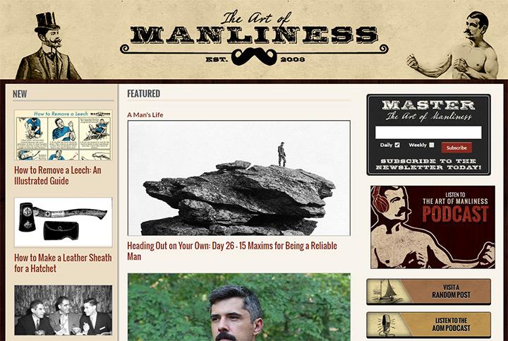 art of manliness blog
