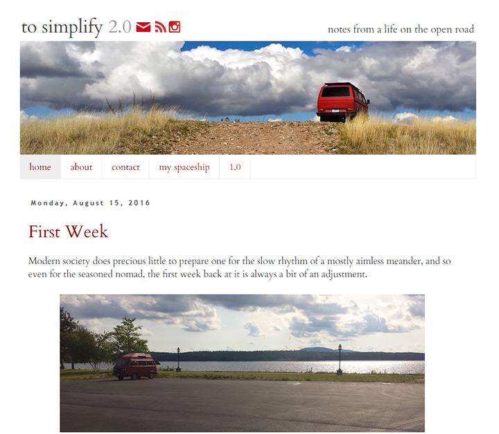 to simplify blog