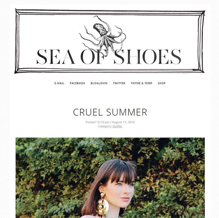 sea of shoes blog