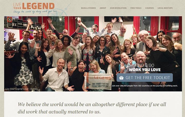 live your legend blog