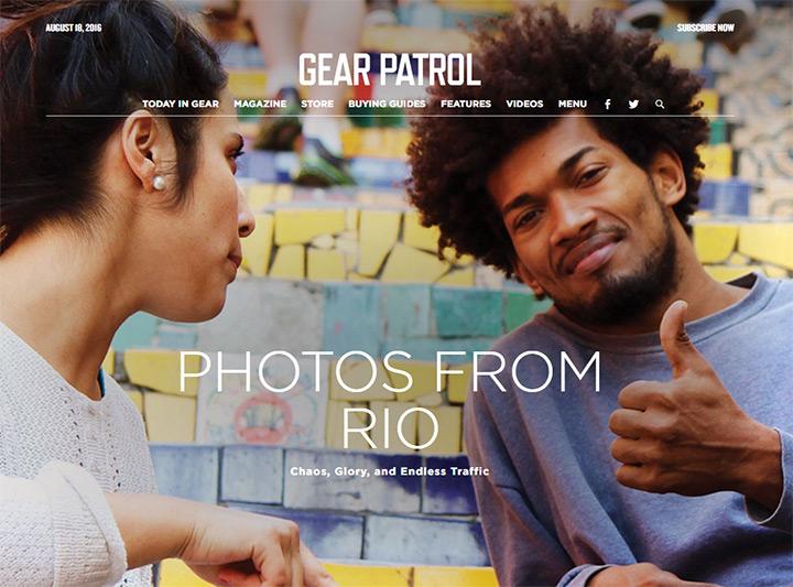 gear patrol blog