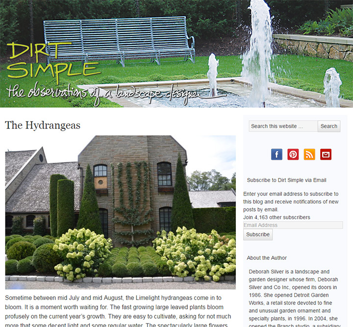 dirt simple blog