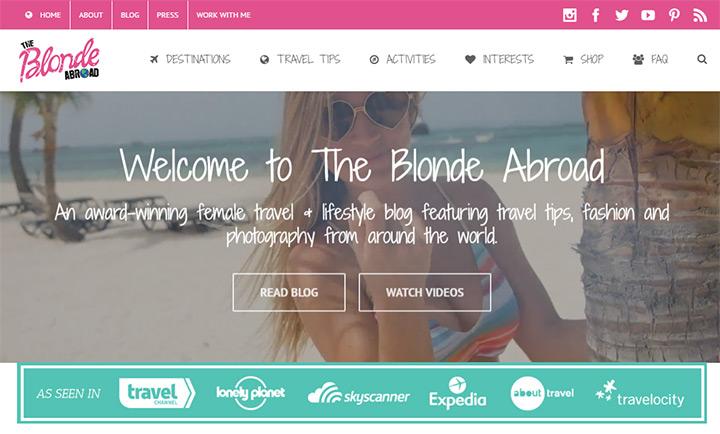 blonde abroad blog